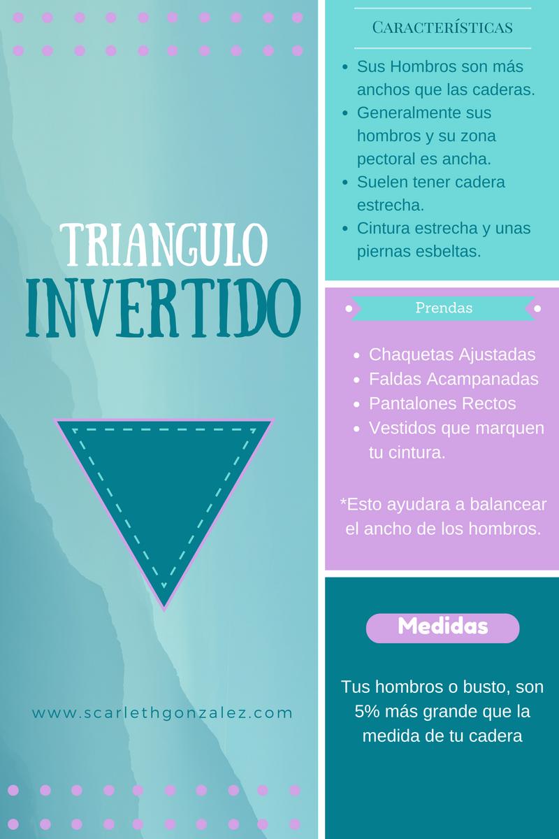 tipo de cuerpo triangulo invertido
