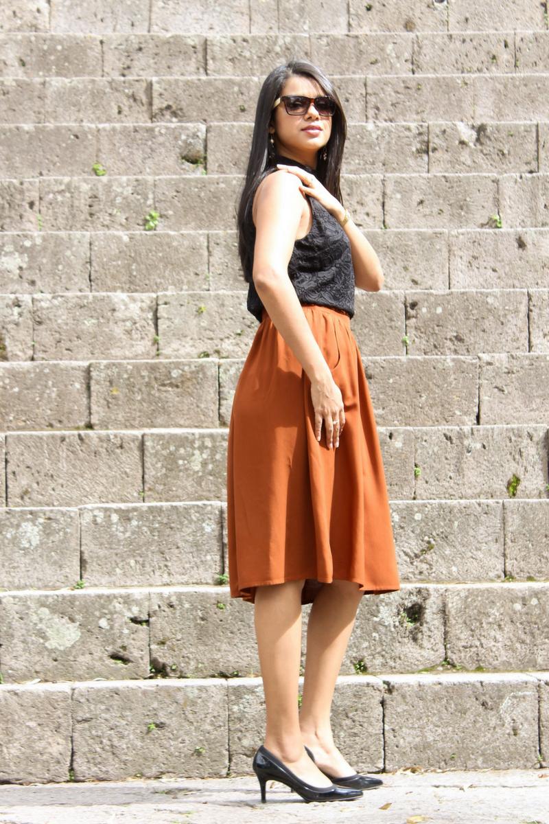 vestir formal mujer jóven