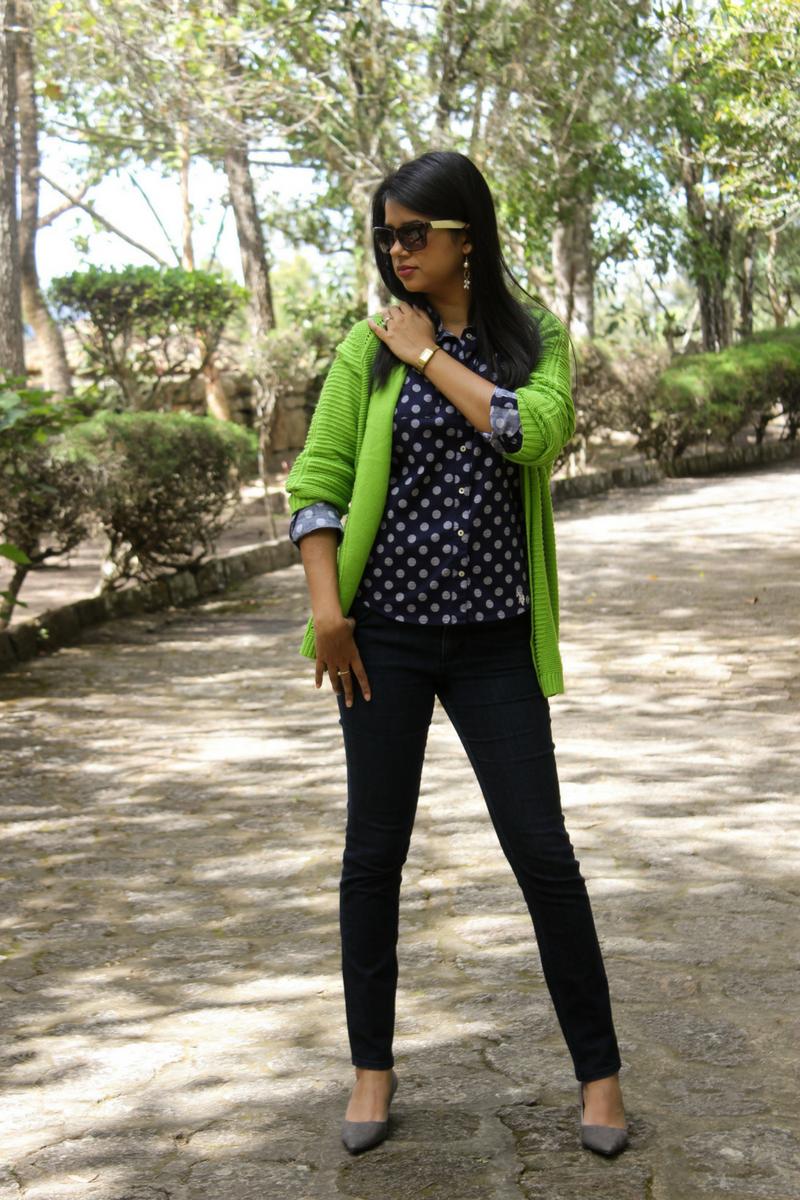 colores de moda 2018 para mujer greenery en tu outfit