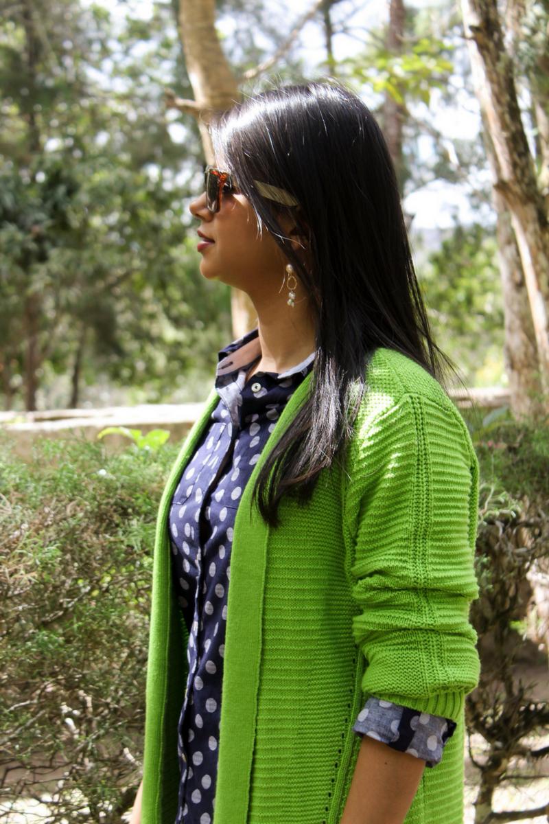 colores de moda greenery en tu outfit