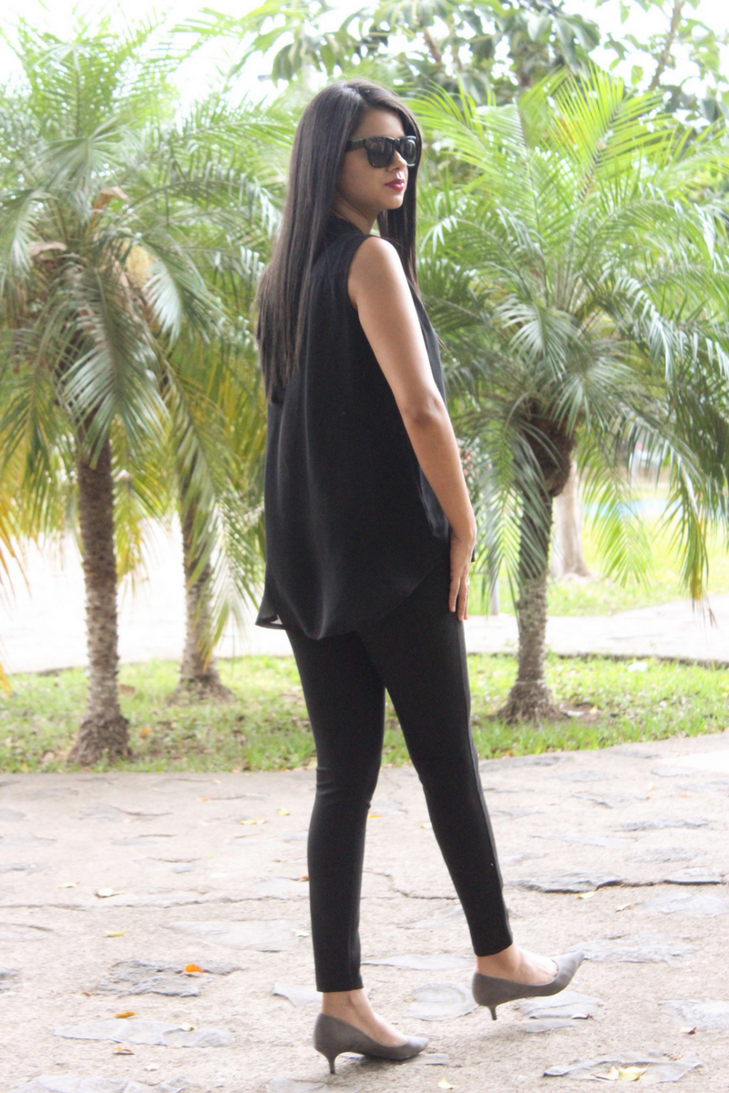 Look total black esta temporada