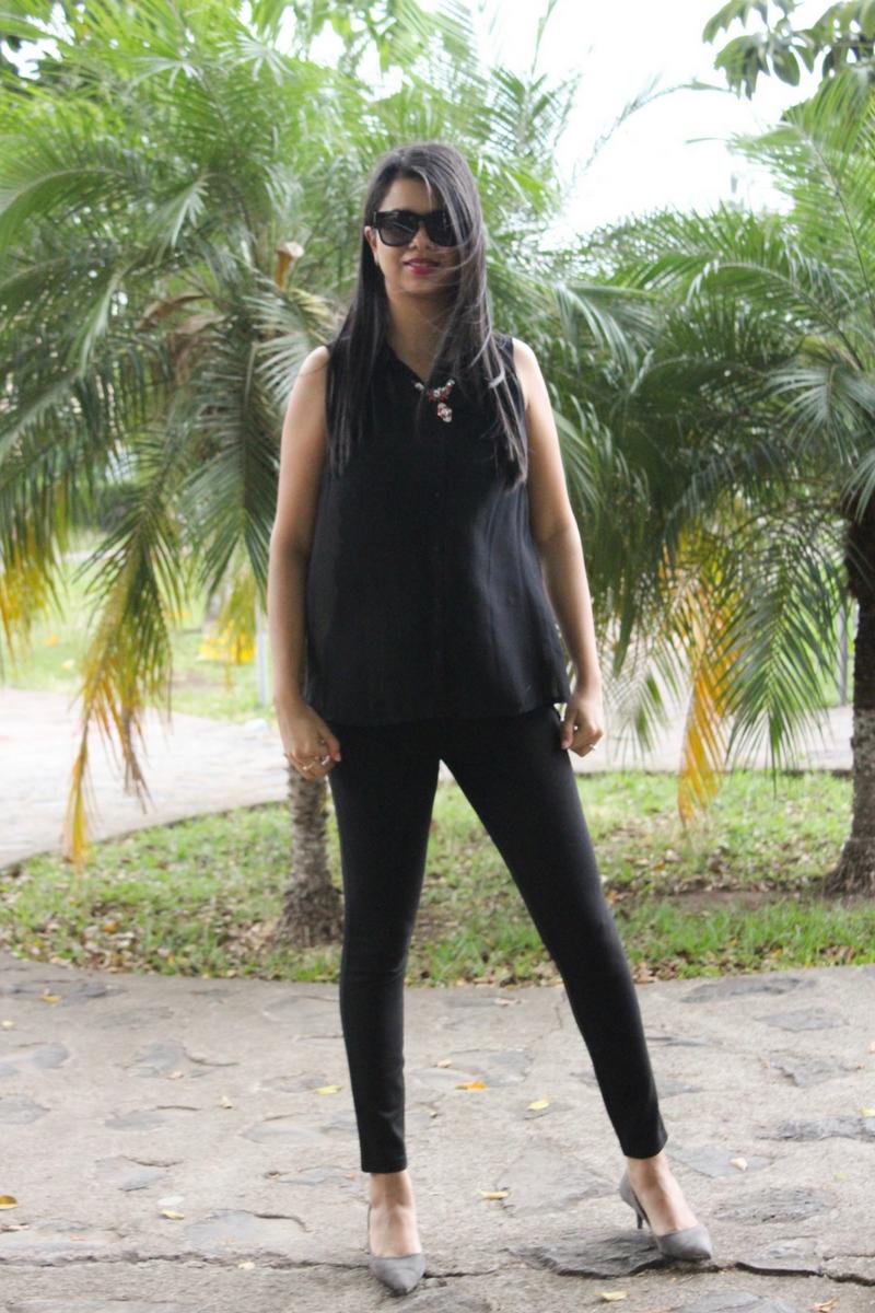 Atrévete a lucir un look total black este verano