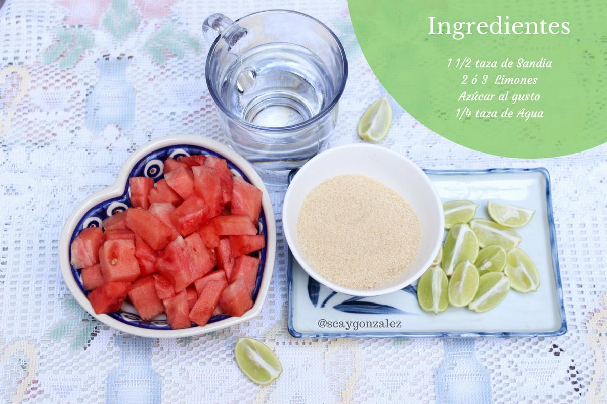 recetas para jugos naturales hidratantes