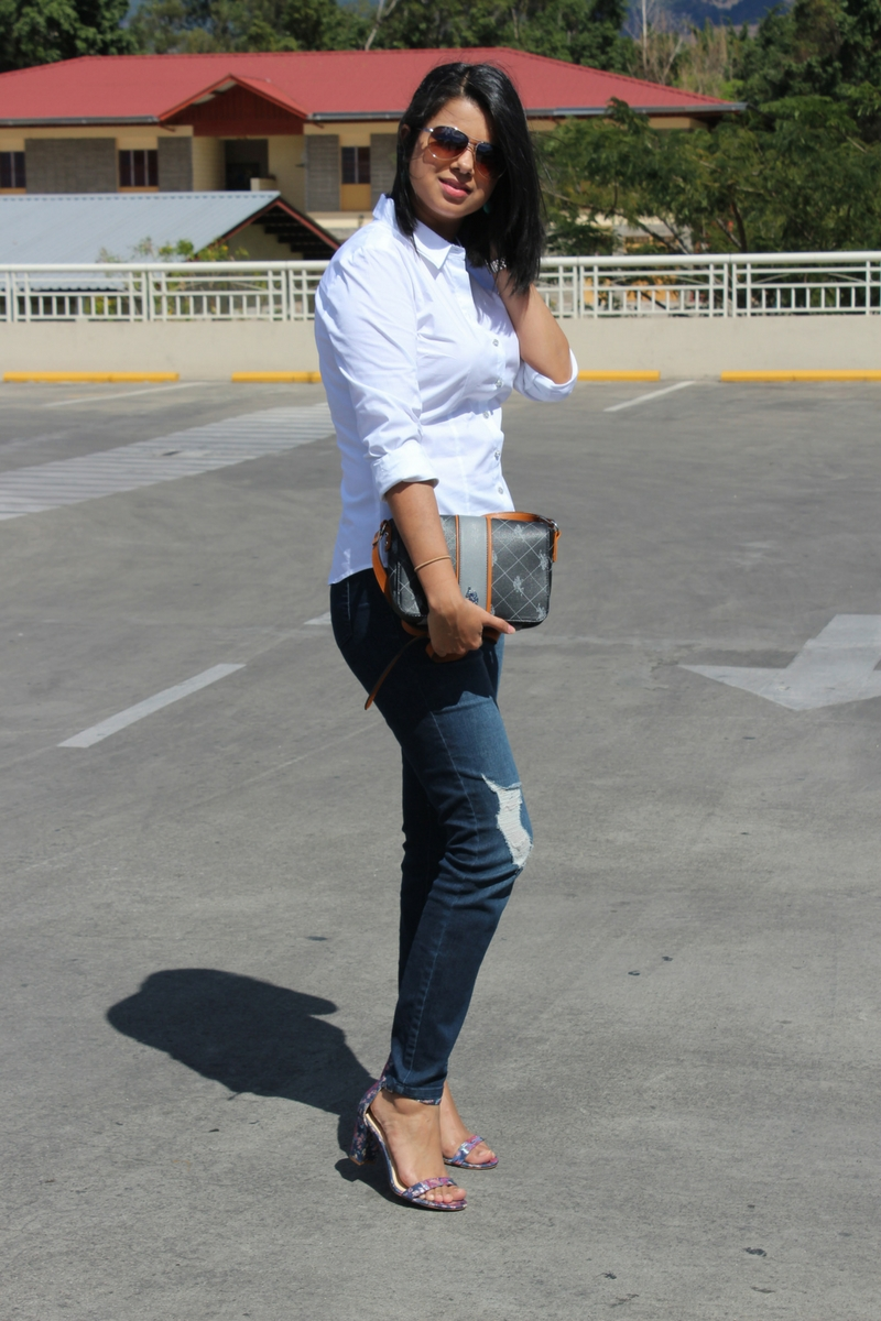 camisa blanca ideal outfits
