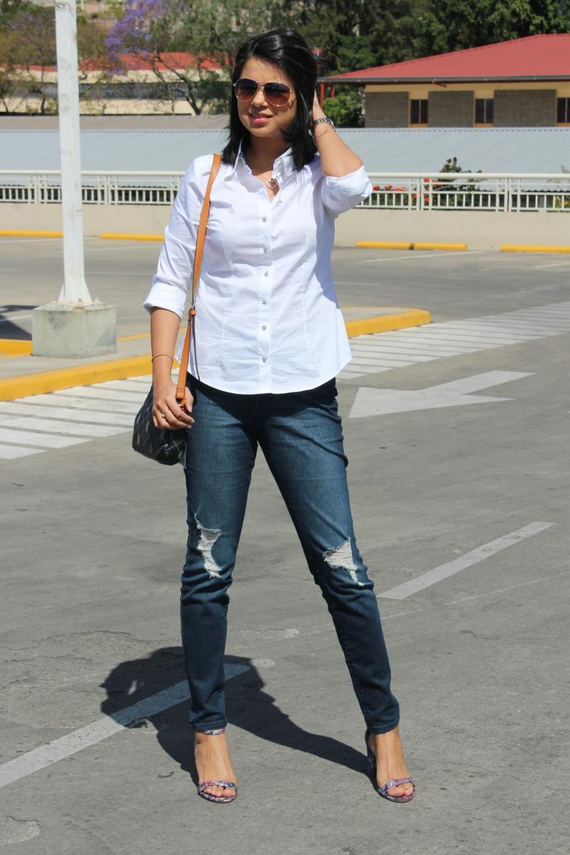 camisa blanca ideal según tu tipo de cuerpo