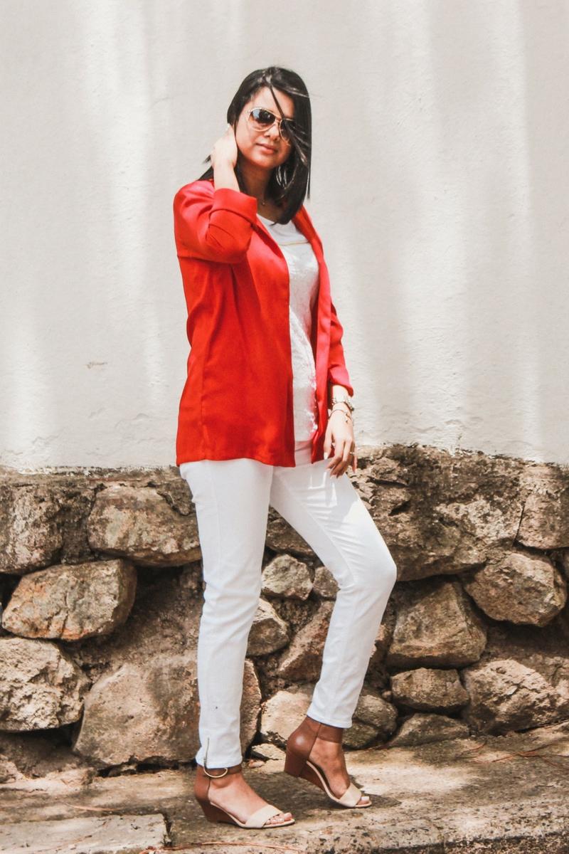 luce el color rojo en tu outfit