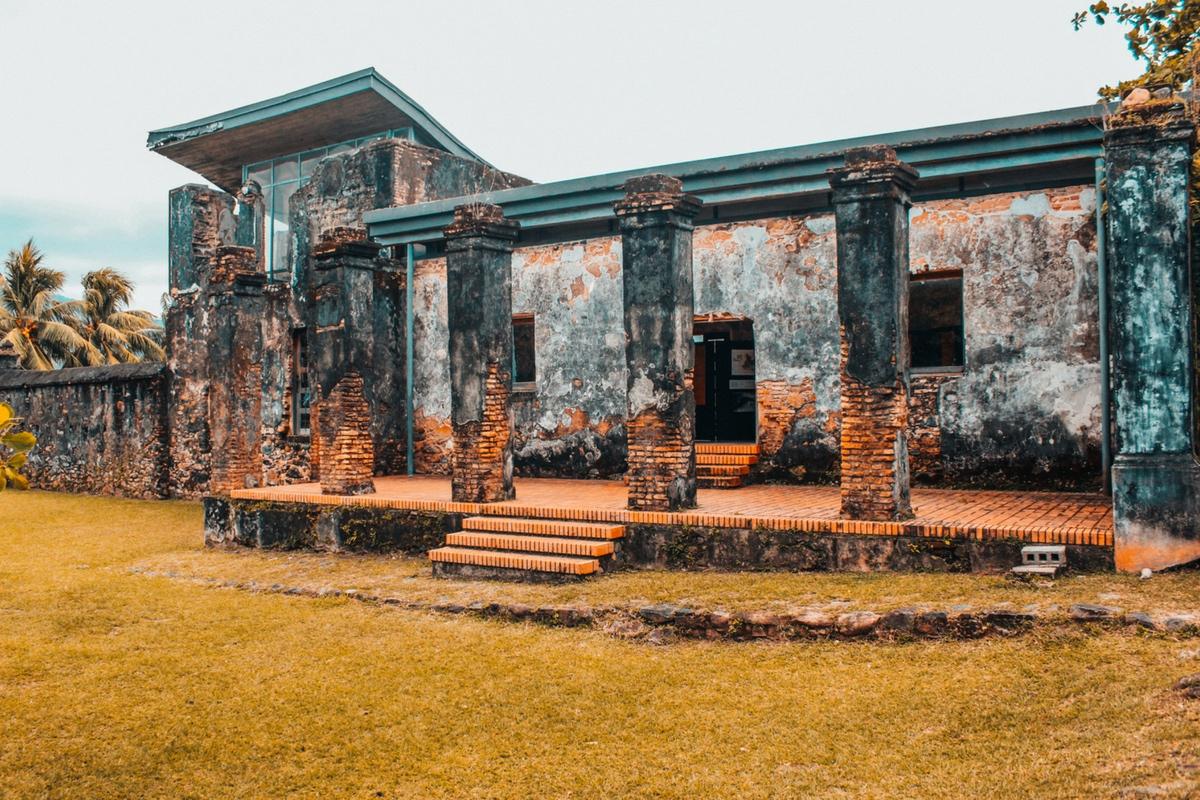 Restos de la Fortaleza de Santa Bárbara, Honduras