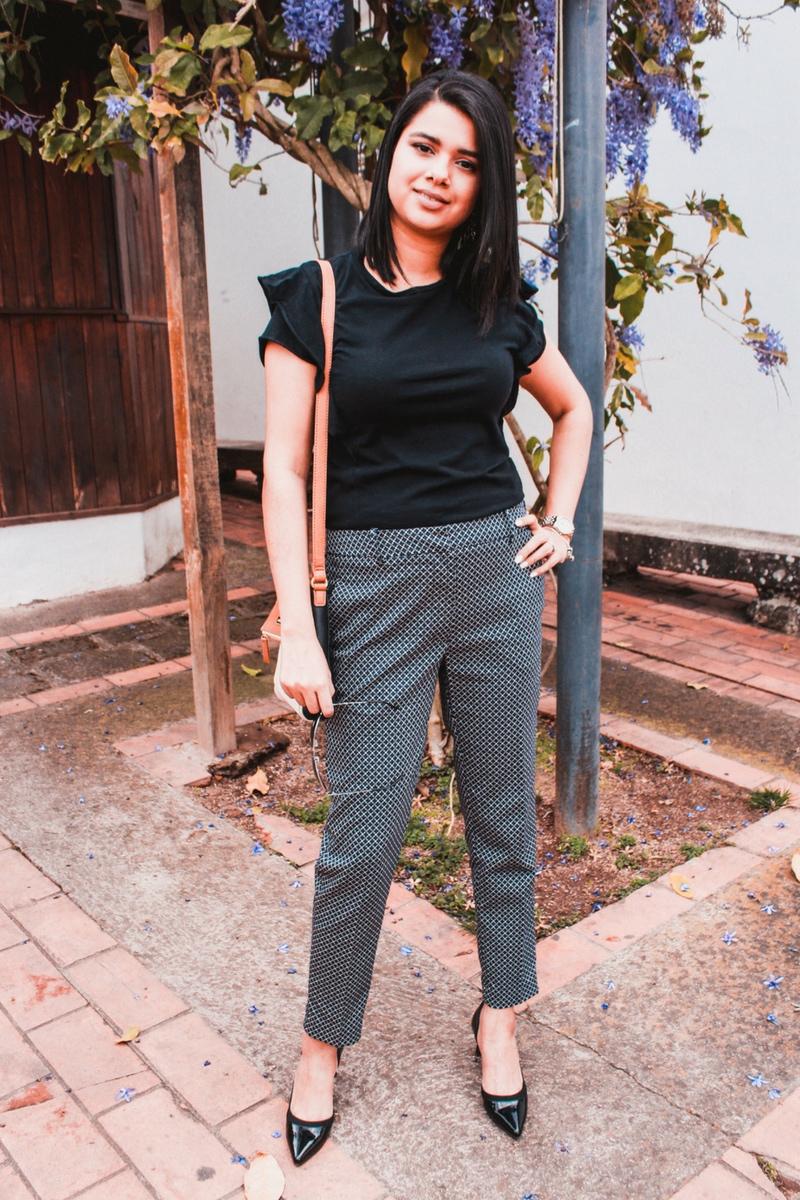 Pantalón de vestir moderno para el trabajo