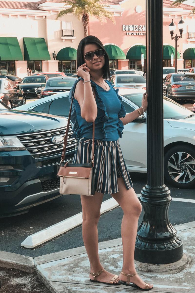 Outfit para clima cálido sencillo para mujer