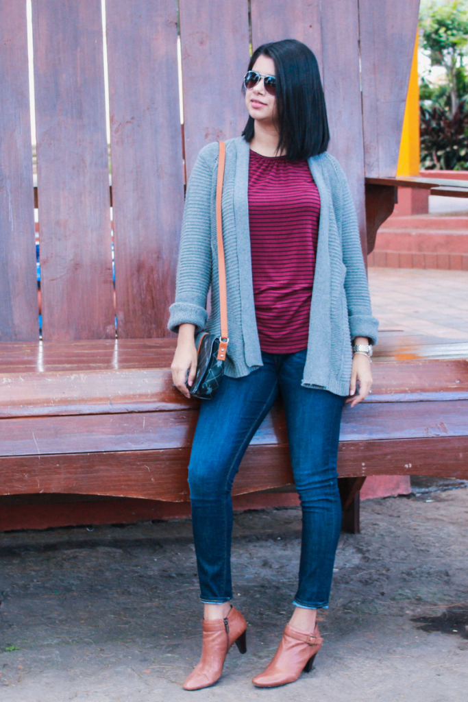 suéter tejido con estilo para mujer