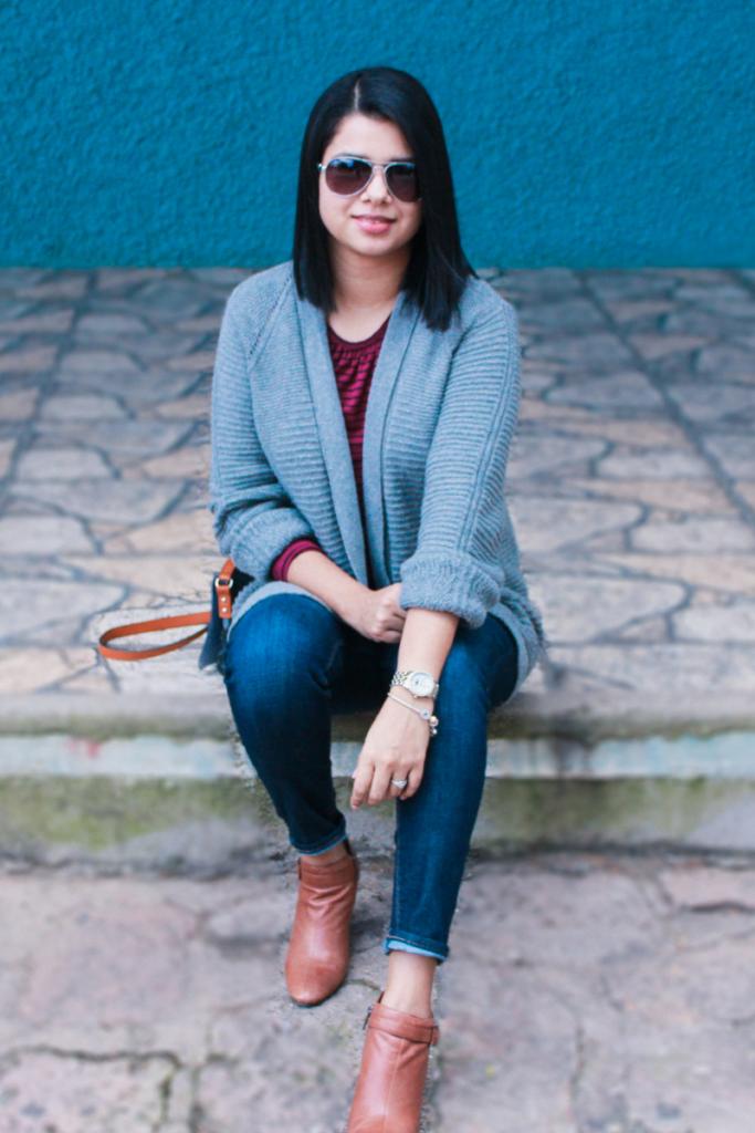 suéter tejido para mujer