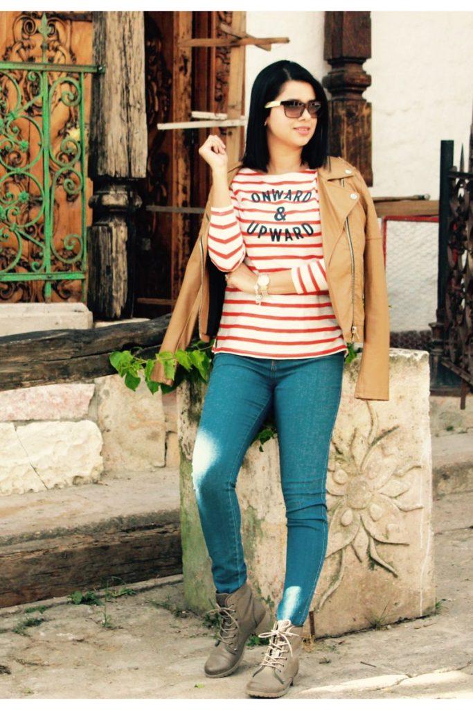 chaquetas de mujer de cuero color camel