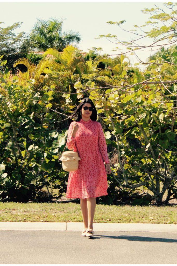 vestido rosado para esa ocasión especial